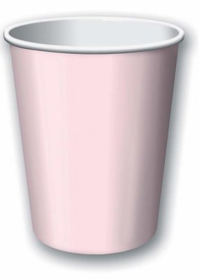 ***Classic Pink 9oz Hot Cold Cup 24ct