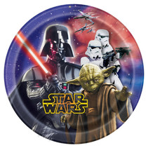 "*Star Wars Round 7"" Dessert Plates, 8ct"