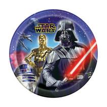 """***Star Wars Round 9"""" Dinner Plates, 8ct"""