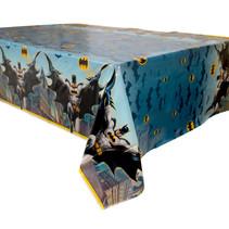 "***Batman Rectangular Plastic Table Cover, 54""x84"""