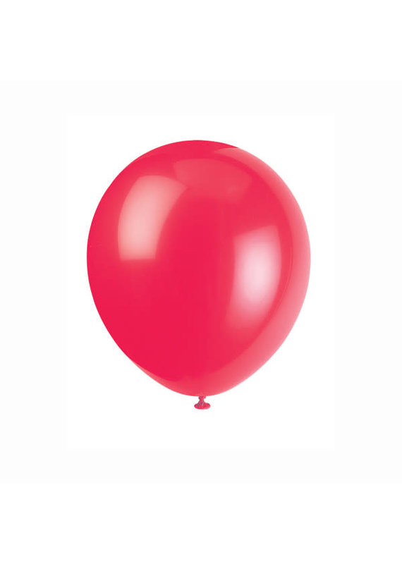 """****12"""" Latex Balloons, 72ct - Ruby Red"""