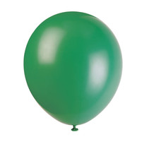 """*12"""" Latex Balloons, 10ct - Forest Green"""