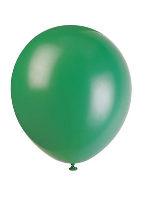 "***12"" Latex Balloons, 10ct - Deep Forest Green"