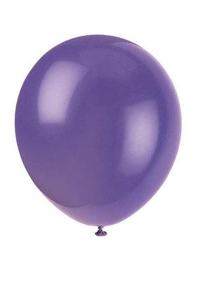 "***12"" Latex Balloons, 10ct - Amethyst Purple"