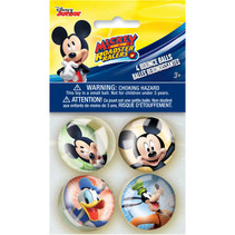 ***Disney Mickey Roadster Bounce Balls, 4ct