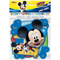 ***Disney Mickey Roadster Large Jointed Banner