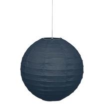 """*Black Solid 10"""" Round Lantern"""