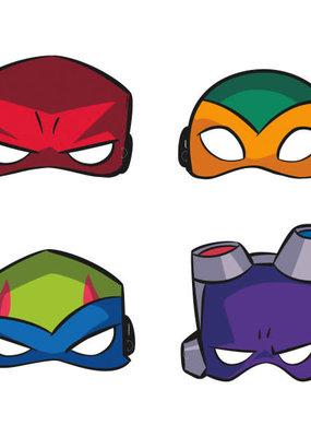 ***Ninja Turtle Party Masks 8ct