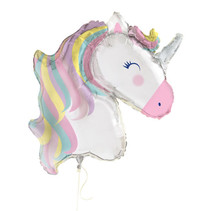 *Unicorn Giant Foil Balloon 42""