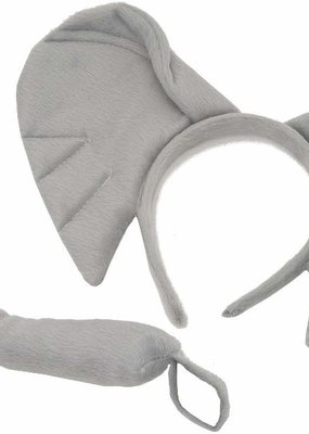 Jacobson Hat Company ***Elephant Headband and Tail Set