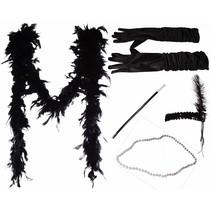 ***Flapper Costume 5 piece Set