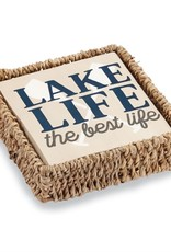 ***Lake Life Basket Napkin Set