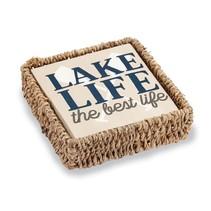 ***Lake Life Basket Napkin Set