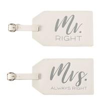 Mr & Mrs Luggage Tag Set
