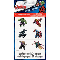 *Avengers Color Tattoo Sheets, 4ct