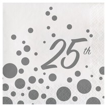 *Sparkle Shine 25th Lunch Napkins