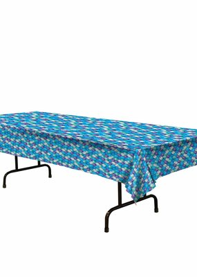 ***Mermaid Scales Plastic Tablecover