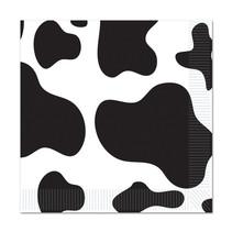 *Cow Print Beverage Napkin