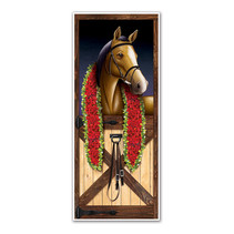 *Horse Racing Door Cover