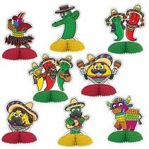 *Fiesta Mini Centerpieces
