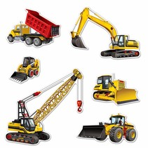 *Construction Equipment Cutouts