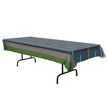 *Road Plastic Tablecover