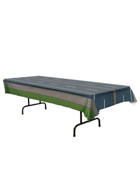 ****Road Plastic Tablecover