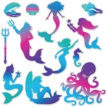 *Mermaid Cutouts