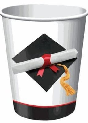 ***Graduation Day 9oz Cups 8ct