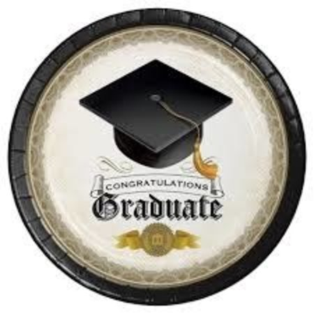 *Cap and Gown Dinner Plates