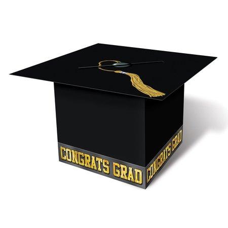 ***Black Grad Cap Card Box