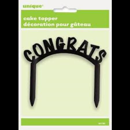 *Cake Topper 'Congrats