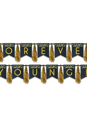 ***Forever Young Tassel Banner