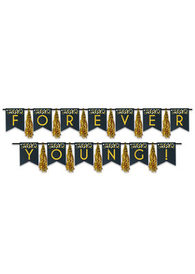 ***Forever Young Tassel Banner