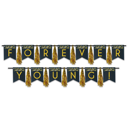 *Forever Young Tassel Banner