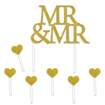 *Mr & Mr Cake Topper