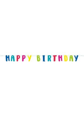 ***Llama Happy Birthday Letter Banner