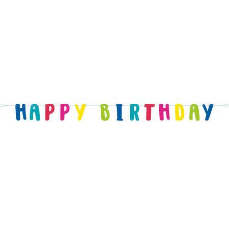 *Llama Happy Birthday Letter Banner