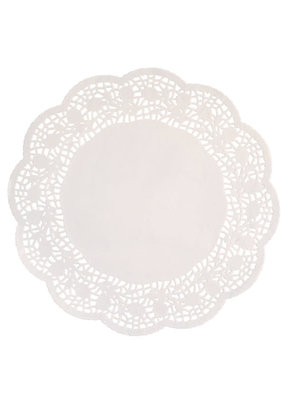 "***Doilies 4.5"" White 48ct"