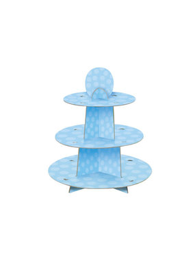 ***Baby Blue Cupcake Stand