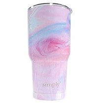 ***Simply Southern Pink Marble 30oz Tumbler