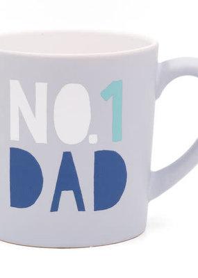 About Face Designs *#1 Dad Mug