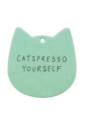 About Face Designs ***Catspresso Yourself Air Freshner