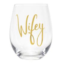 *Wifey Wine Glass