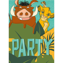 ***Disney Lion King Invitations, 8ct