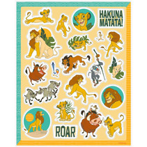 ***Disney Lion King Sticker Sheets, 4ct