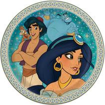 "***Disney Aladdin Round 9"" Dinner Plates, 8ct"