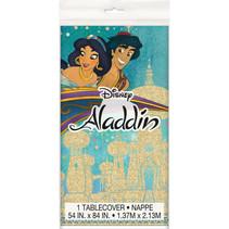 "***Disney Aladdin Rectangular Plastic Table Cover, 54""x84"""