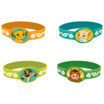 ***Disney Lion King Stretchy Bracelets, 4ct