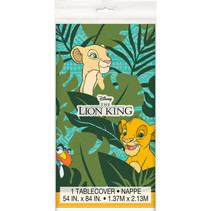 "***Disney Lion King Rectangular Plastic Table Cover, 54""x84"""